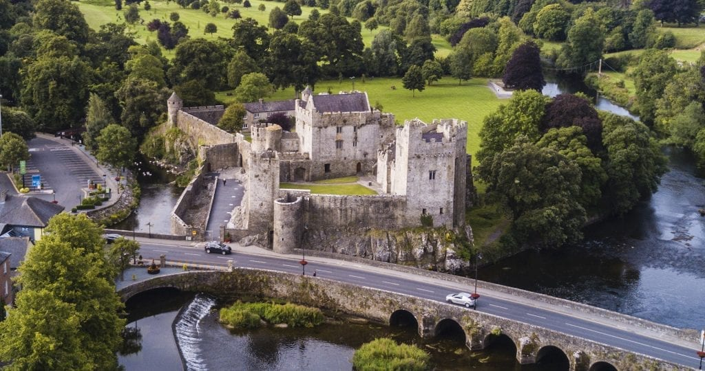 Cahir Castle was a stronghold of the Butler family