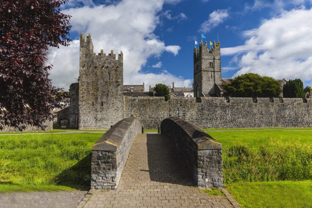 Fethard is a near perfect example of a walled town