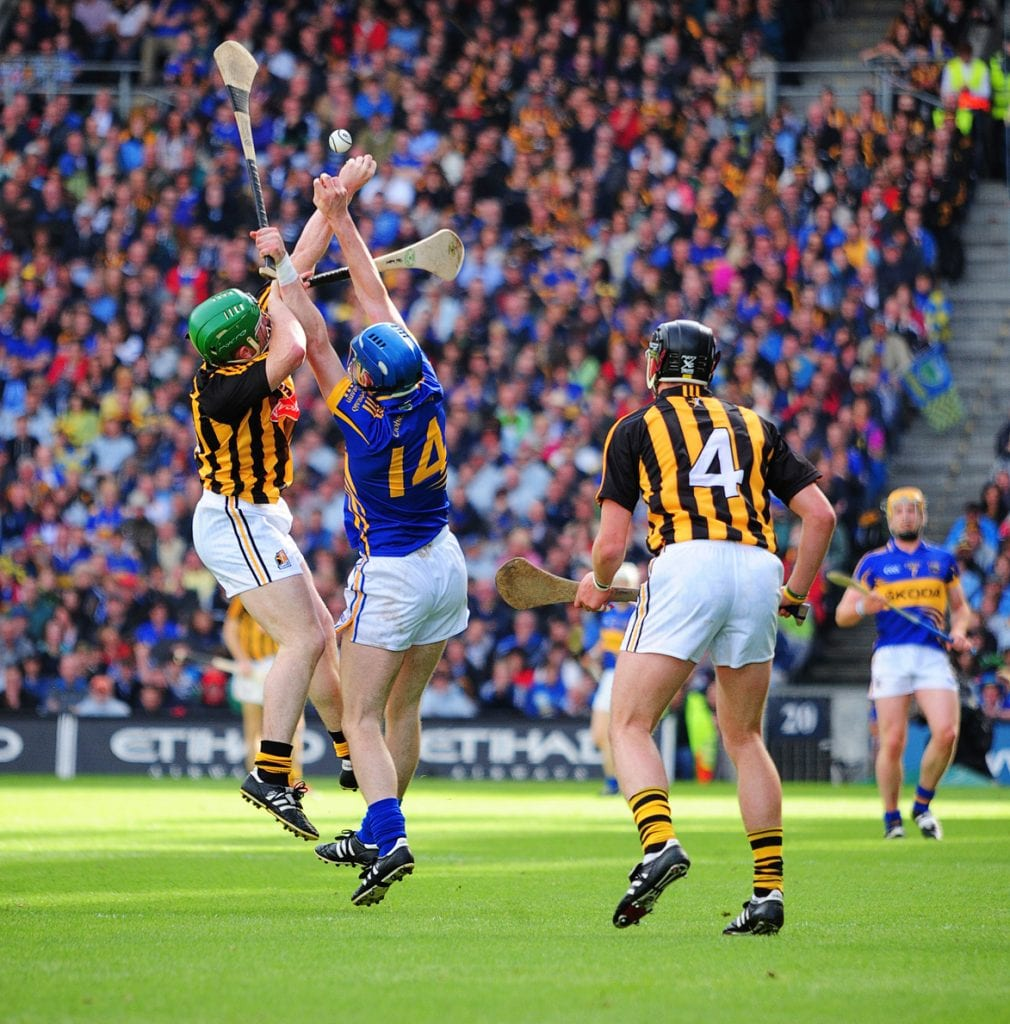 Tipperary versus Kilkenny, hurling match
