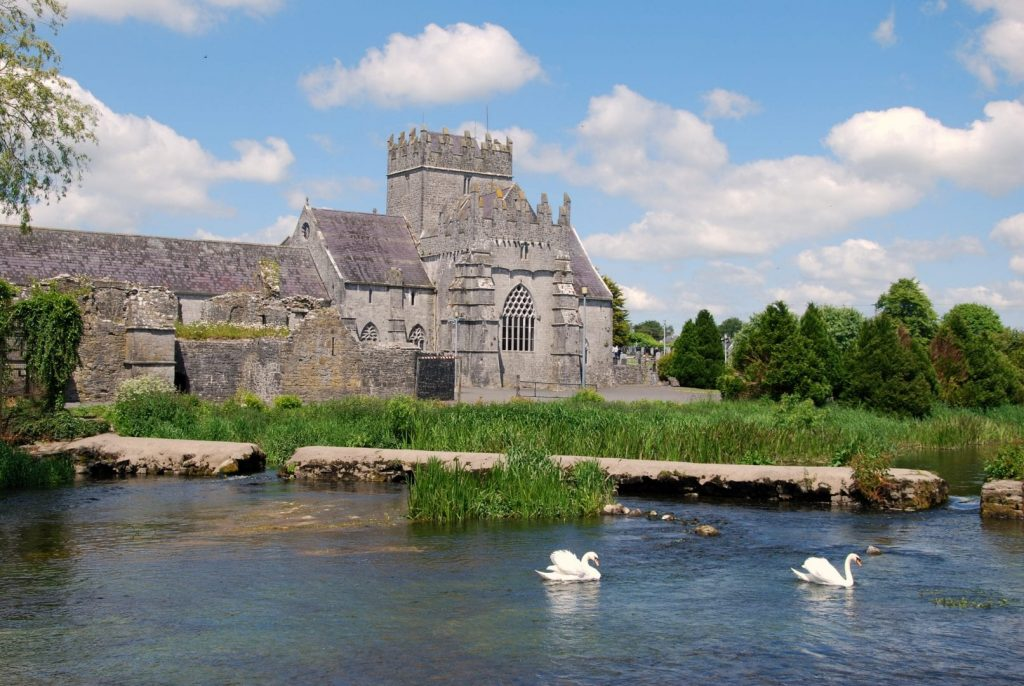 Holycross Abbey has a rich and colourful past