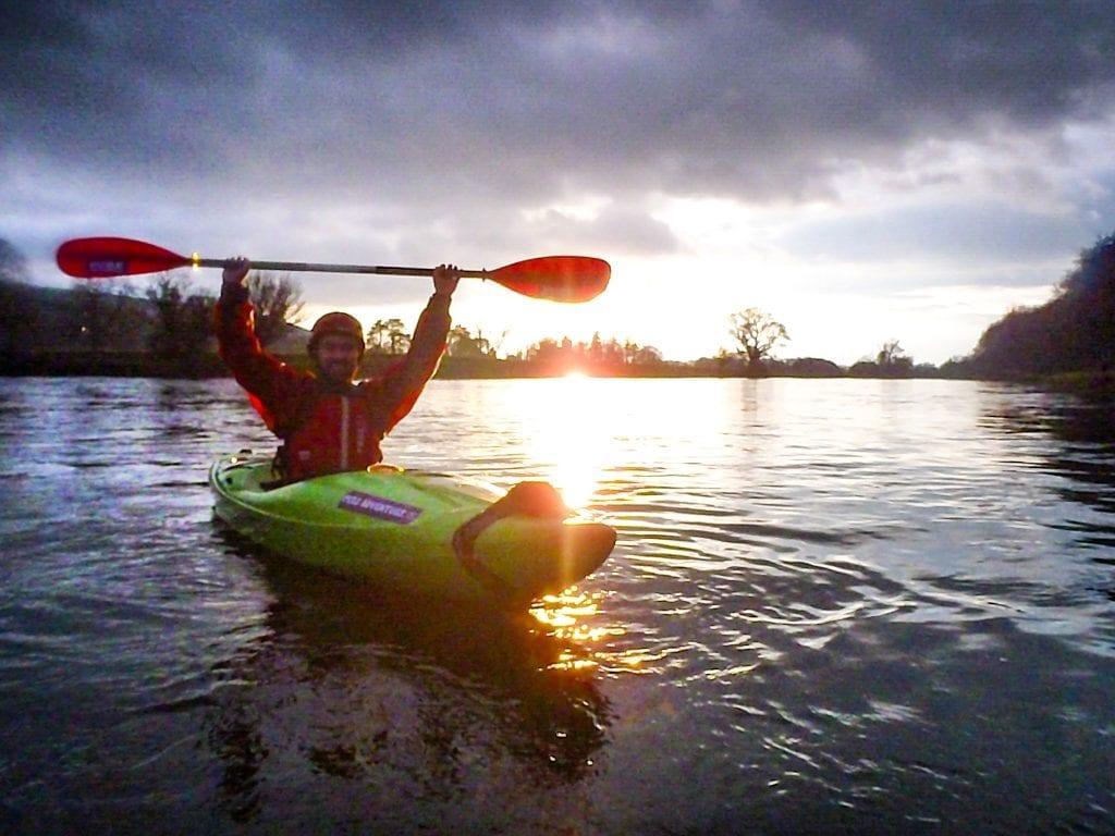 Kayaking in Tipperary