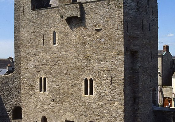 Roscrea Castle is part of The Butler Trail