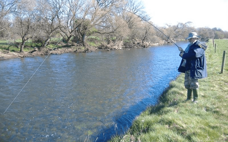 Fishing the River Suir in Cahir
