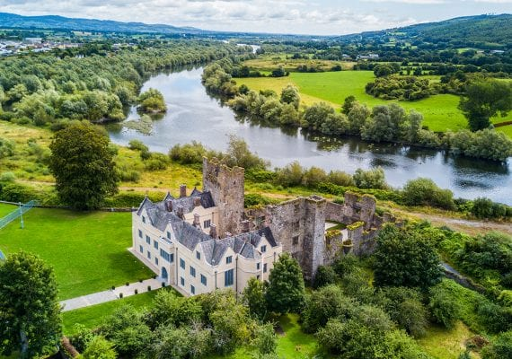 Ormond Castle on the River Suir
