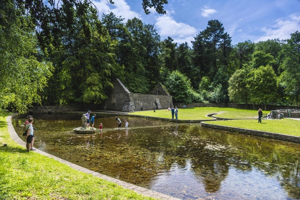 St Patrick's Well is a great location to relax and enjoy a picnic