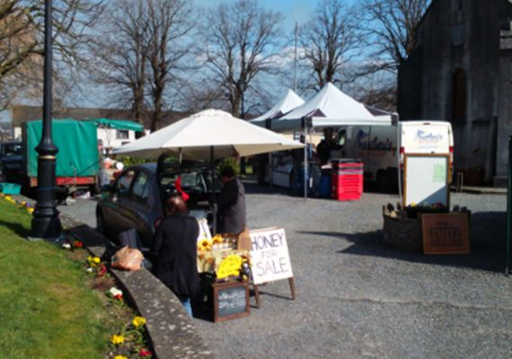 Carrick-on-Suir Bauernmarkt in Tipperary