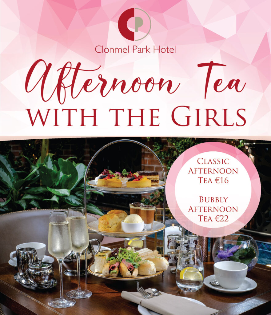 Afternoon Tea for 2 in thec Clonmel Park Hotel