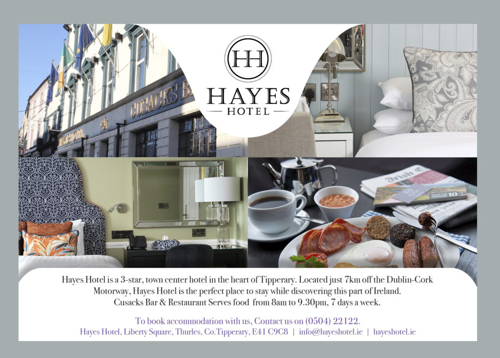Special Offer  from Hayes Hotel, Thurles