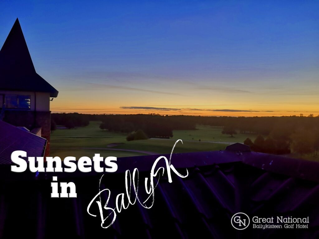 Make a break for it at Ballykisteen Golf Hotel