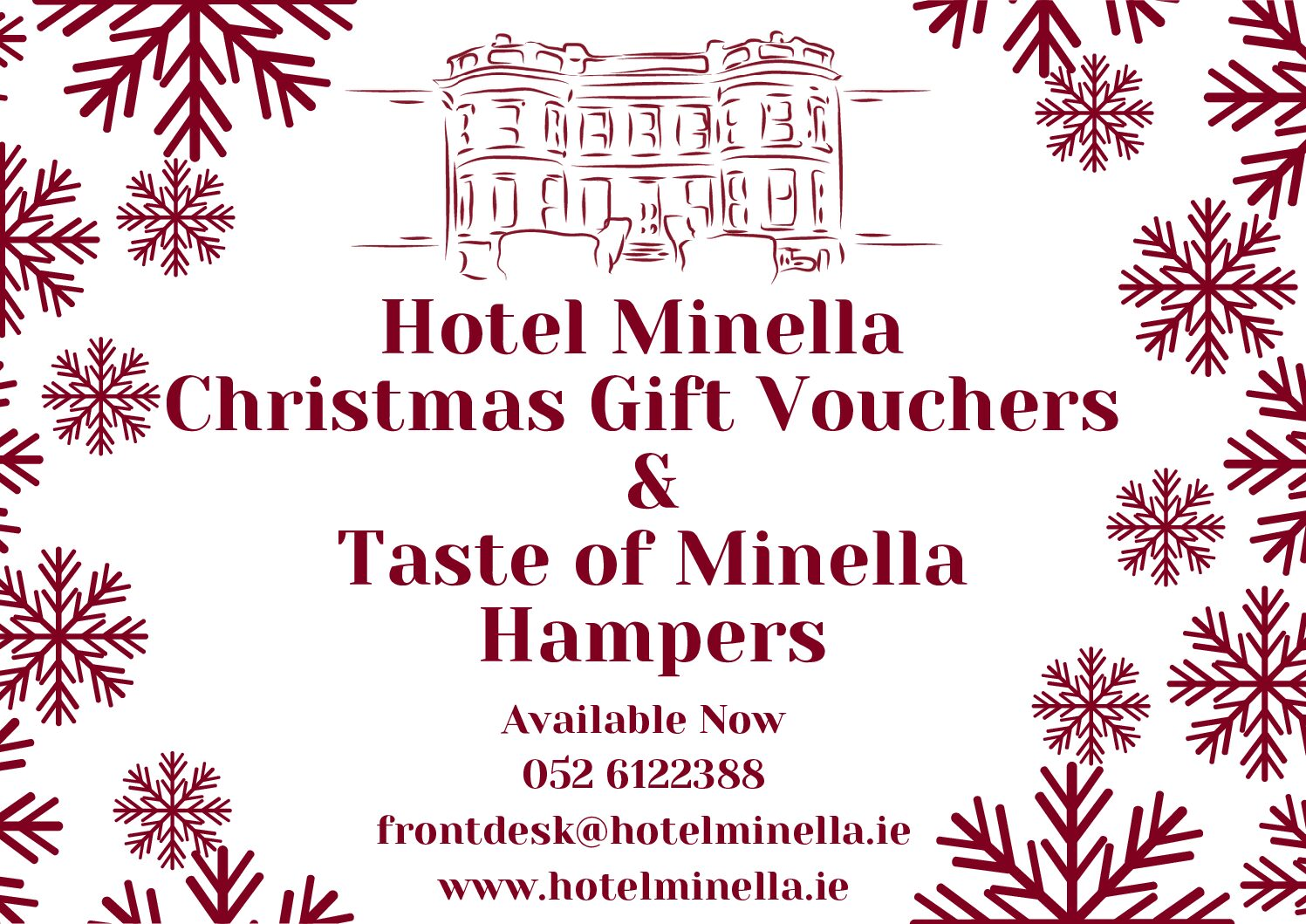 http://Give%20the%20best%20Christmas%20Gift%20with%20Hotel%20Minella%20Voucher