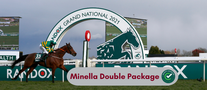 Minella Double Package €560 (based on 2 adults sharing)